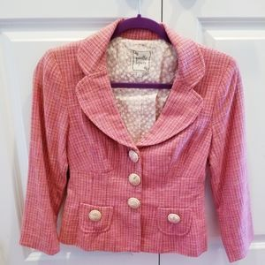 Nanette Lepore Pink Blazer Jacket
